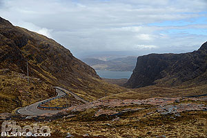 Creag a' chumhaing, Applecross, Highlands, Scotland, United Kingdom
