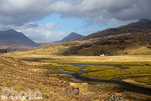 River Kishorn, Tornapress, Highlands, Scotland, United Kingdom