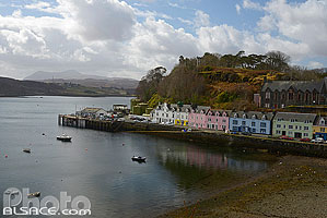 Photo : Port de Portree, Isle of Skye, Highlands, Scotland, United Kingdom