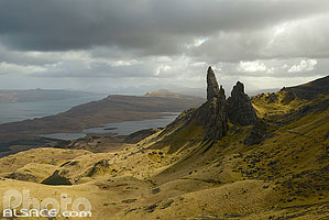 Photo : Old Man of Storr, Isle of Skye, Highlands, Scotland, United Kingdom, Higlands, Scotland