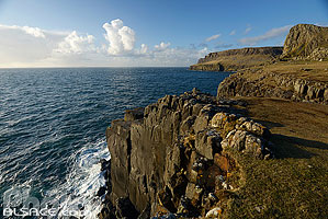 Photo : Neist Point, Isle of Skye, Highlands, Scotland, United Kingdom, Higlands, Scotland