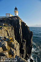 Photo : Neist Point Lighthouse, Isle of Skye, Highlands, Scotland, United Kingdom, Higlands, Scotland