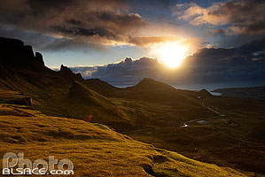 Photo : Quiraing, Trotternish, Isle of Skye, Highlands, Scotland, United Kingdom, Higlands, Scotland