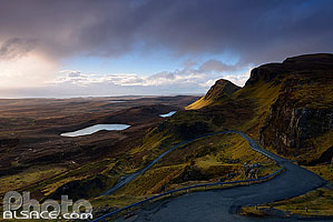 Bioda Buidhe, Trotternish, Isle of Skye, Highlands, Scotland, United Kingdom