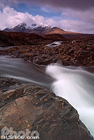 Photo : River Sligachan et Cuillin Hills, Isle of Skye, Highlands, Scotland, United Kingdom