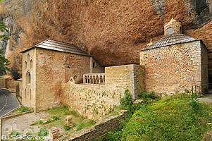 Photo : Monasterio de San Juan de la Peña, Aragon, Spain
