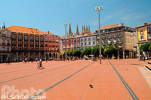 Photo : Plaza Mayor, Burgos, Castilla y León, España