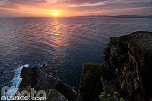 Photo : Lever de soleil, Cabo Mayor, Santander, Cantabria, España