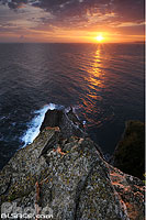 Photo : Lever de soleil, Cabo Mayor, Santander, Cantabria, Spain