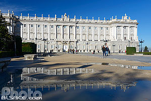 Photo : Palacio Real (Palais Royal), Plaza de Oriente, Madrid, España, Comunidad de Madrid, España