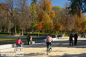 Photo : Passeo Salon del Estanque, Parque del Retiro, Madrid, España