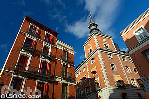 Photo : Palacio de Santa Cruz, Calle de la Concepcion Jeronima, Madrid, España