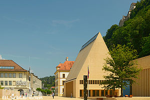 Photo : Parlement du Liechtenstein, Vaduz, Liechtenstein