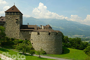 Photo : Château de Vaduz, Liechtenstein