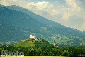 Photo : Balzers, Liechtenstein