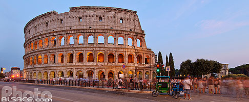 Photo : Colisée (Colosseo), Piazza del Colosseo, Rome, Latium, Italie