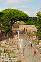 Photo : Ostie (Ostia Antica) ancien port de la Rome antique, Rome Latium, Italie, Latium, Italie