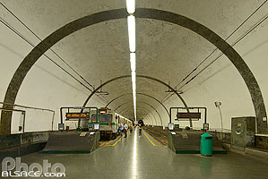 Photo : Station de métro Flaminio, Rome, Latium, Italie