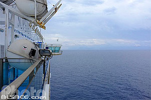 Photo : Ferry en direction de la Sicile, Italie