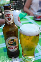 Photo : Birra Moretti, Sicile, Italie
