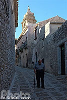 Photo : Ruelle de Erice, Sicile, Italie