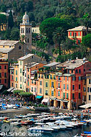 Photo : Port de Portofino, Ligurie, Italie
