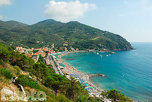 Photo : Levanto, Ligurie, Italie