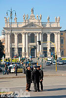 Photo : Piazza San Giovanni in Laterano, Roma, Latium, Italie