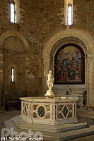 Photo : Battistero di San Giovanni, Volterra, Toscane, Italie