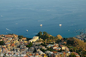 Photo : Taormina, Sicile, Italie