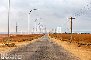 Photo : Route du Roi (King's Highway), Ma'an, Jordanie