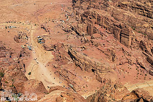 Photo : Haut-lieu des Sacrifices (Djebel Madbah), Pétra, Ma'an, Jordanie