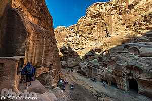 Photo : Siq al-Barid (Little Petra), Ma'an, Jordanie