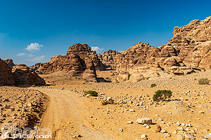 Photo : Al Beidha à proximité de Little Petra, Ma'an, Jordanie