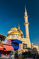 Photo : Mosquée du roi Hussein (King Hussain Mosque), Madaba, Jordanie