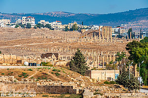 Photo : Cité antique de Jerash, Jordanie
