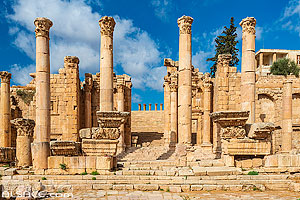 Photo : Propylée, Cité antique de Jerash, Jordanie