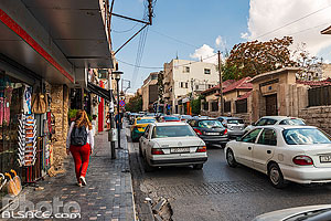 Photo : Rainbow Street, Djebel Amman, Amman, Jordanie