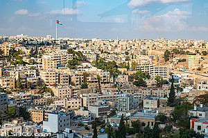 Photo : Ville de Amman, Jordanie