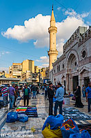 Photo : Mosquée Al-Husseiny, Downtown, Amman, Jordanie