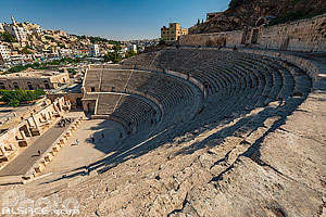 Photo : Théâtre Romain d'Amman, Jordanie