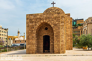 Photo : Chapelle Al Nourieh (Lady of the Light) Shrine, Centre-Ville de Beyrouth, Beyrouth, Liban