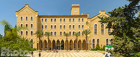 Photo : Université Américaine de Beyrouth (AUB), Dar Mreisse, Beyrouth, Liban