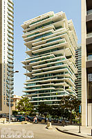 Photo : Immeuble Beirut Terraces (Architecte : Herzog & de Meuron), Centre-ville de Beyrouth, Beyrouth, Liban