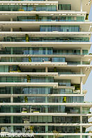 Photo : Immeuble Beirut Terraces (Architecte : Herzog & de Meuron), Centre-ville de Beyrouth, Beyrouth, Liban, Beyrouth, Liban