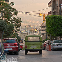 Photo : Rue Sassine, Achrafieh, Beyrouth, Liban