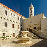 Monastère Saint-Maron, Annaya, Mont-Liban, Liban, Mont-Liban, Liban