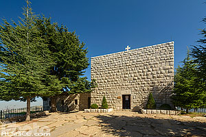 Photo : Ermitage de Saint-Charbel, Annaya, Mont-Liban, Liban