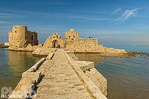 Château de la Mer (Château de Sidon), Saïda (Sidon), Liban-Sud, Liban, Liban-Sud, Liban