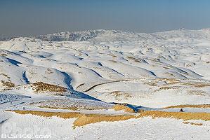 Paysage du Mont Liban en hiver, Mzaar Kfardebian, Mont-Liban, Liban, Mont-Liban, Liban